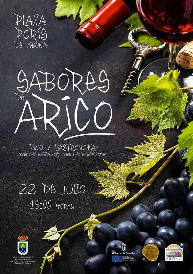 Sabores de Arico, nueva cita el 22 de julio en el Poris de Abona
