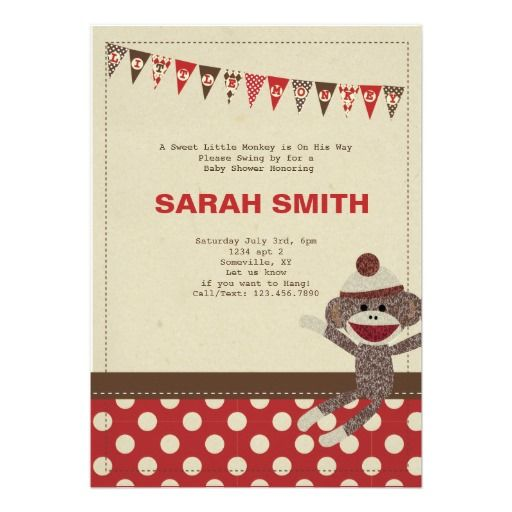 122 Best Images About Baby Shower Invitations On Pinterest