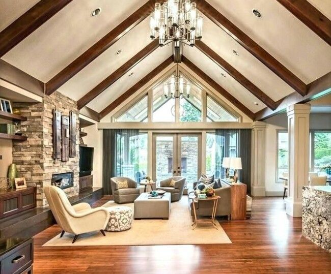 Content What Is Vaulted Ceilingbenefits Of Vaulted Ceilingthe Room Feels Bigger Vaulted Living Rooms Vaulted Ceiling Living Room Cathedral Ceiling Living Room
