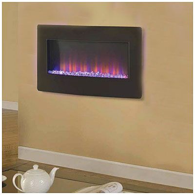 "36"" Wall Mount Electric Fireplace at Big Lots."