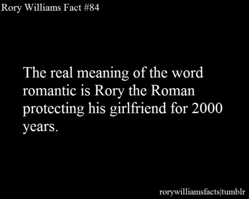 Rory Williams Facts Tumbler