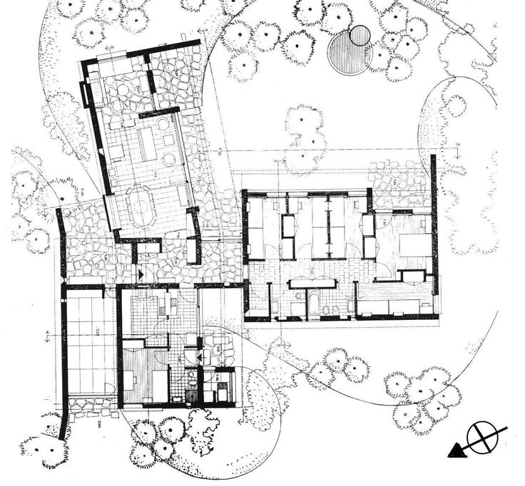 Architecture Blueprints House