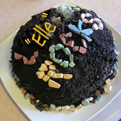 Hmmm...this would make a good cake for a certain geologist I know and love.
