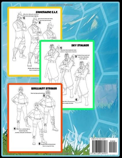 how to draw fortnite learn to draw skins unofficial paperback august 11 2018 by osie publishing the 1 unofficial how to draw learn to draw skins and - fortnite skins august 2018
