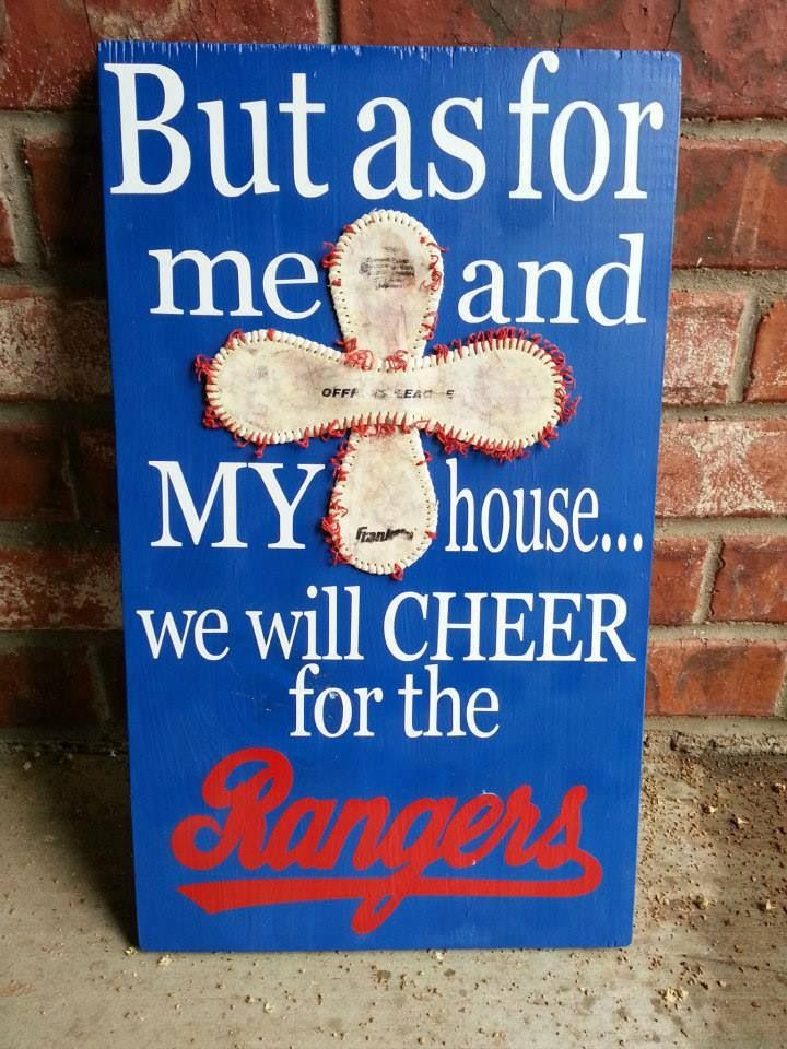 God bless the Rangers | from Melissa Cherry
