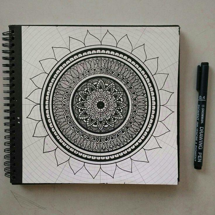 Best 25 Mandala Elephant Ideas On Pinterest: Best 25+ Simple Mandala Ideas On Pinterest
