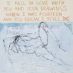 Tracey Emin - Exorcism of the Last Painting I Ever Made (1996)