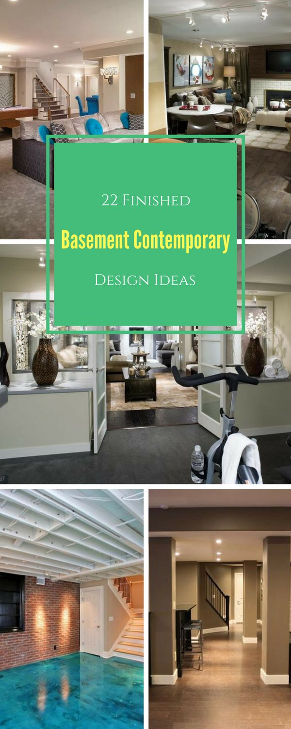Best Images About Basement Designs And Ideas On Pinterest - Finished