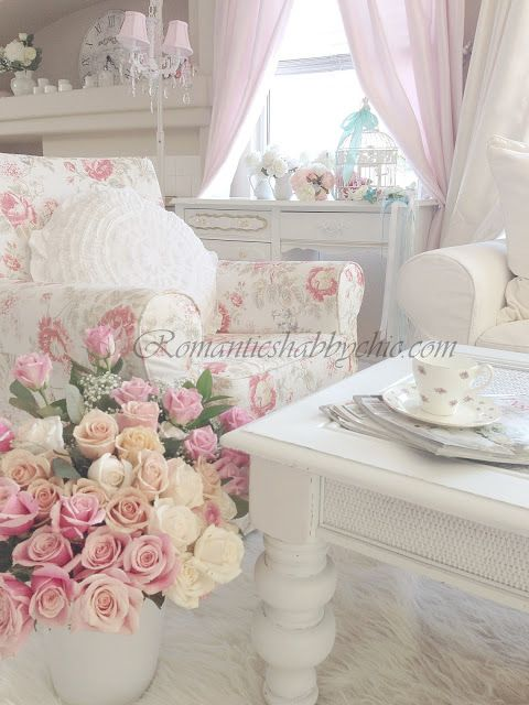 My Shabby Chic Home ~ Romantik Evim ~Romantik Ev                                                                                                                                                      More