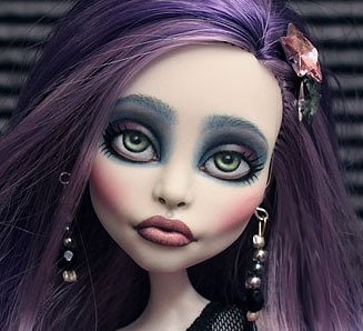 Image Detail for - ... ♥ ooak Monster High Spectra Vondergeist repaint ♥ for sale