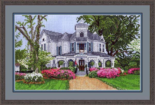The Victoria Sampler Beyond Cross Stitch Kits.  http://patterni.net/victorian-cross-stitch-patterns/
