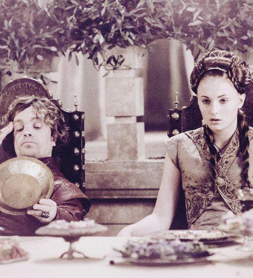 Tyrion and Sansa