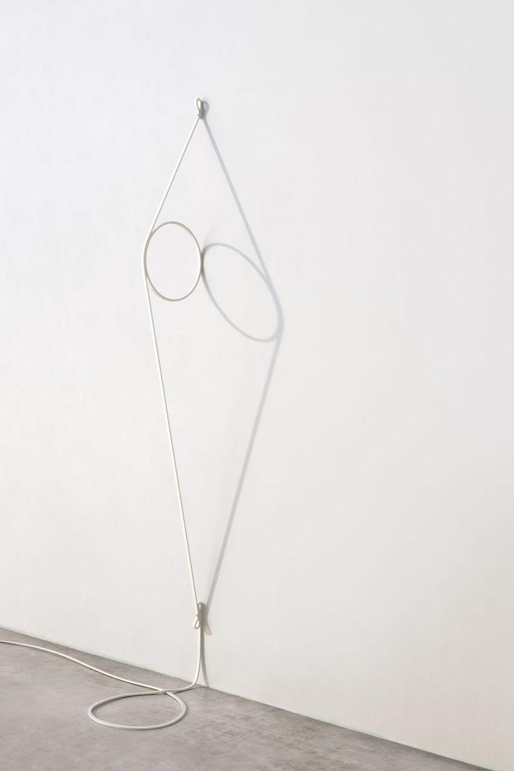 Formafantasma's Wire Ring lamp for Flos at Milan design week 2017
