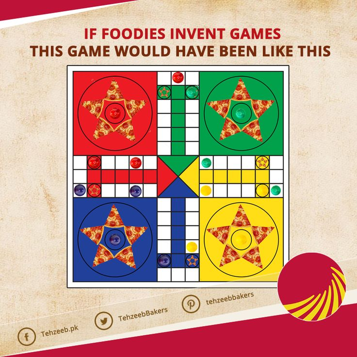 If foodies invent games, this game would have been like