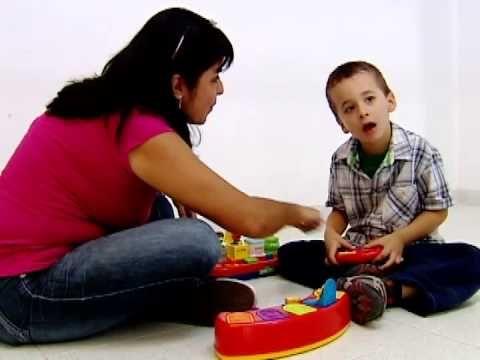 Comunicación con niños autistas - YouTube