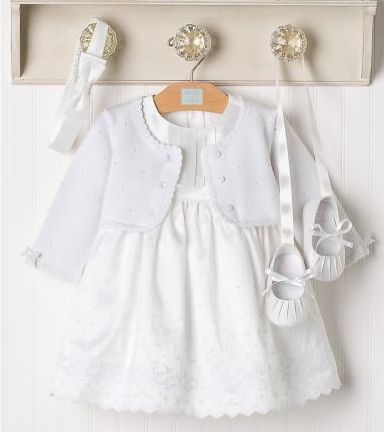 Designer Baby: Pristine Baby Set from Janie and Jack