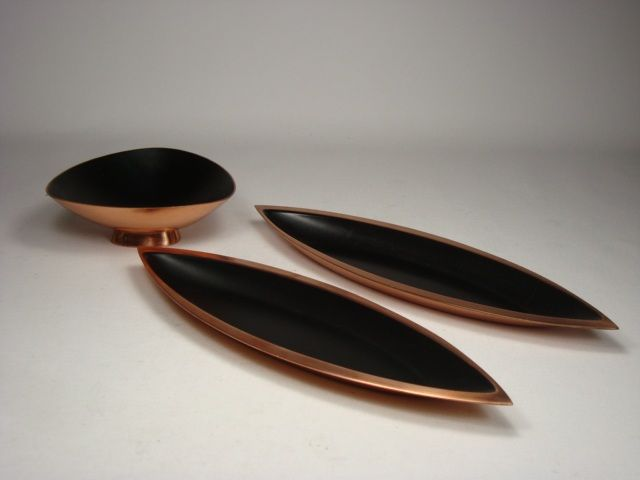 Enameled copper by Ystad-Metall, Gunnar Ander