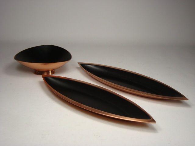 Enameled copper by Ystad-Metall, Gunnar Ander