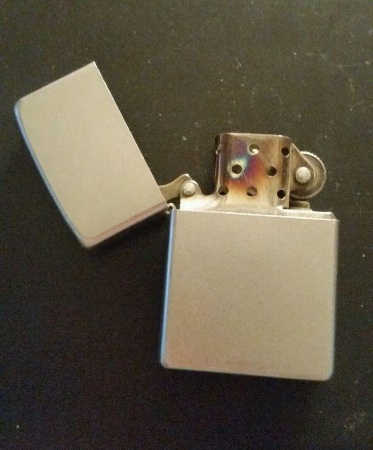 Zippo Lighter 1980's Made in USA Bradford PA