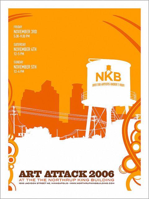 Art Attack 2006 Poster