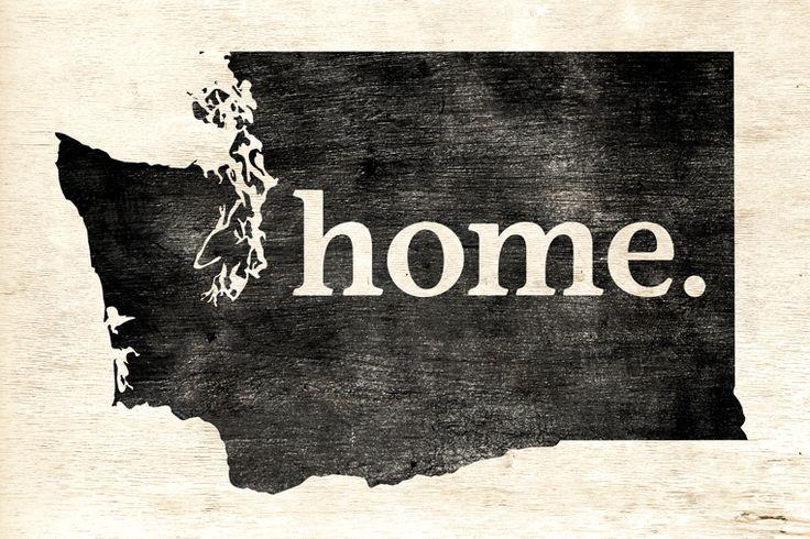 Washington Home Poster Print - Keep Calm Collection