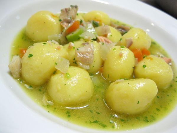 Gnocchi di patate (senza glutine) con guazzetto d'acqua dolce, inserita da Franco Malinverno