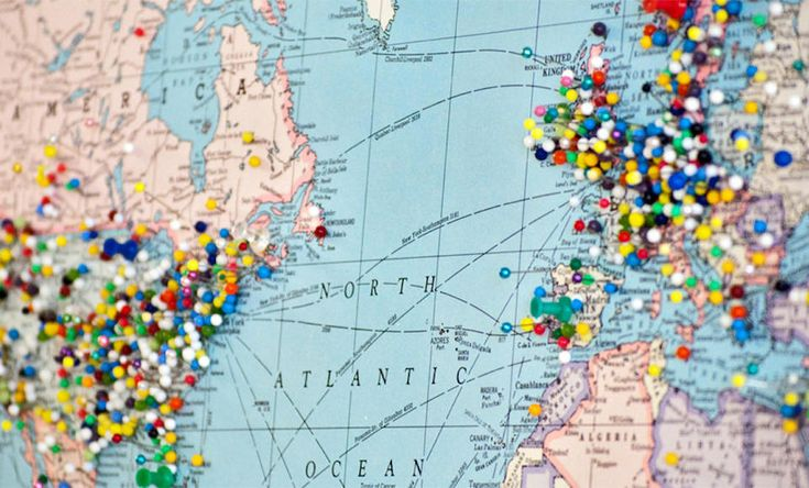 THIS MAP REVEALS THE BEST TIME TO VISIT ANYWHERE IN THE WORLD!