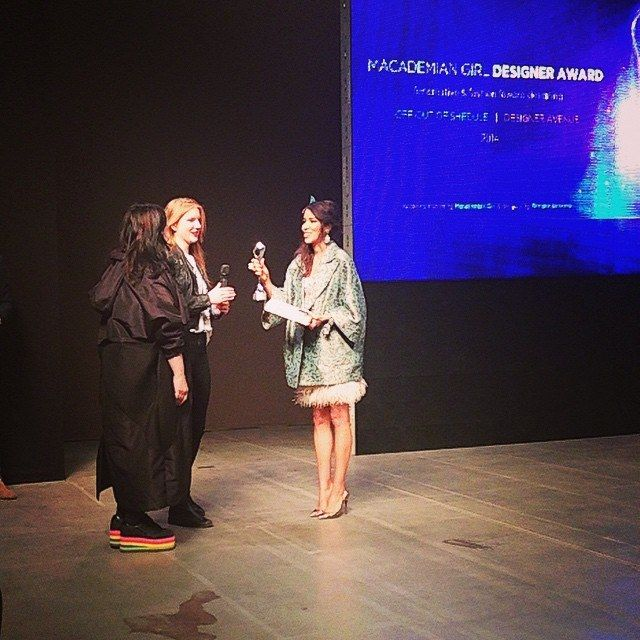 Macademian Girl Designer Award on Fashion Week Poland 2014