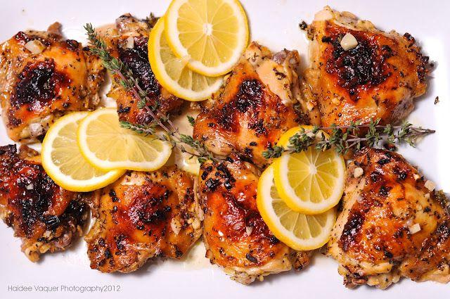 chicken: Kitchens, Dinner, Lemon Garlic Chicken, Haidees, Chicken Recipes, Food, Haidee S Kitchen, Favorite Recipes