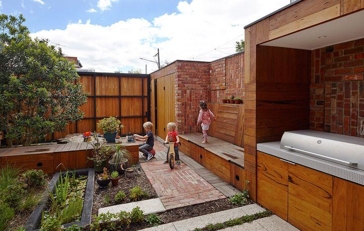 Casa Galería - Carles Enrich Terrazas, jardines, patios