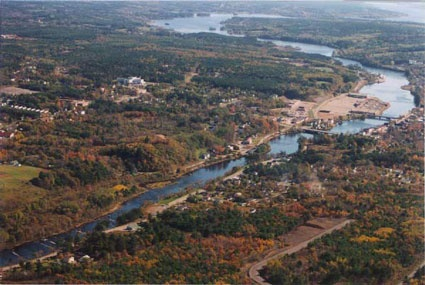 Town of Bridgewater on the LaHave River NS
