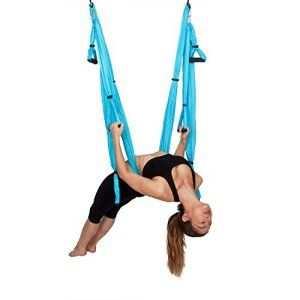 Yoga-Swing-By-WNG-Brands-Aerial-Yoga-Back-Inversion-Sling-Anti-gravity-Yoga-Hammock-For-Strengthening-Back-Pain-Relief-Available-In-3-Colors-Heavy-Duty-Fabric-For-Maximum-Safety-Comfort #yoga #yogainspiration #yogagains