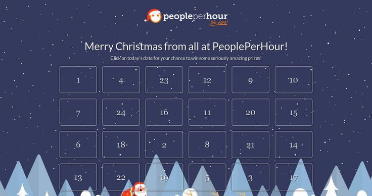 Check out this Advent Calender Enter daily competitions to win some seriously amazing prizes!
