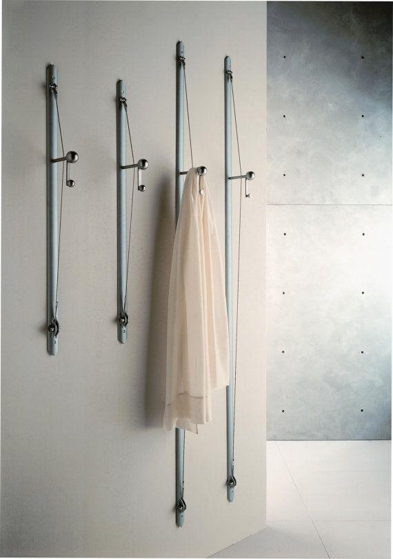 wall clothes racks Arco e Balestra appendiabiti da parete  elegant design small size suitable for nice compositions