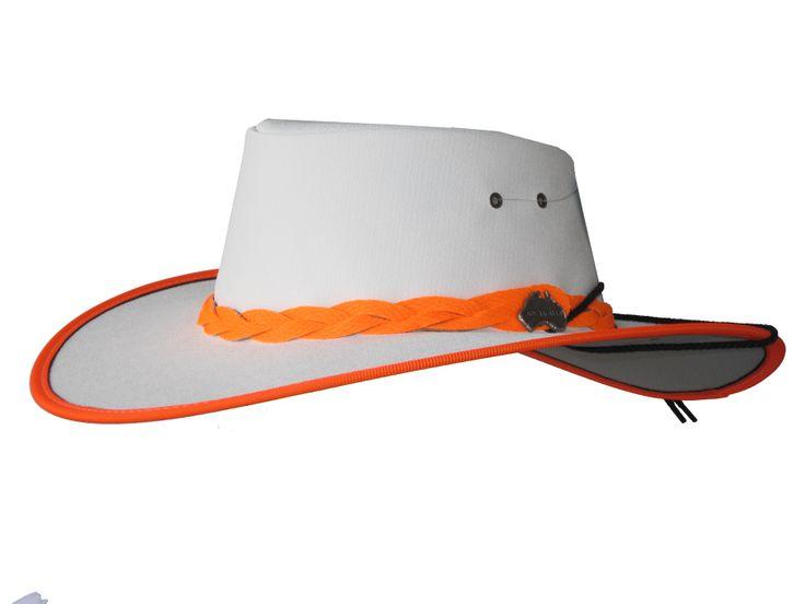 Safety Explorer (Full Canvas hat Wide Brim) - True Blue by Jacaru Australia