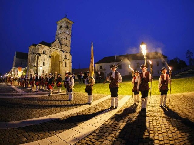 Alba Iulia Citadel. Built by the Dacians 2000 years ago, it was conquered by the Romans and hosted the XIII Gemina Legion. It was also the capital of medieval Transylvania and the place where modern Romania was born.
