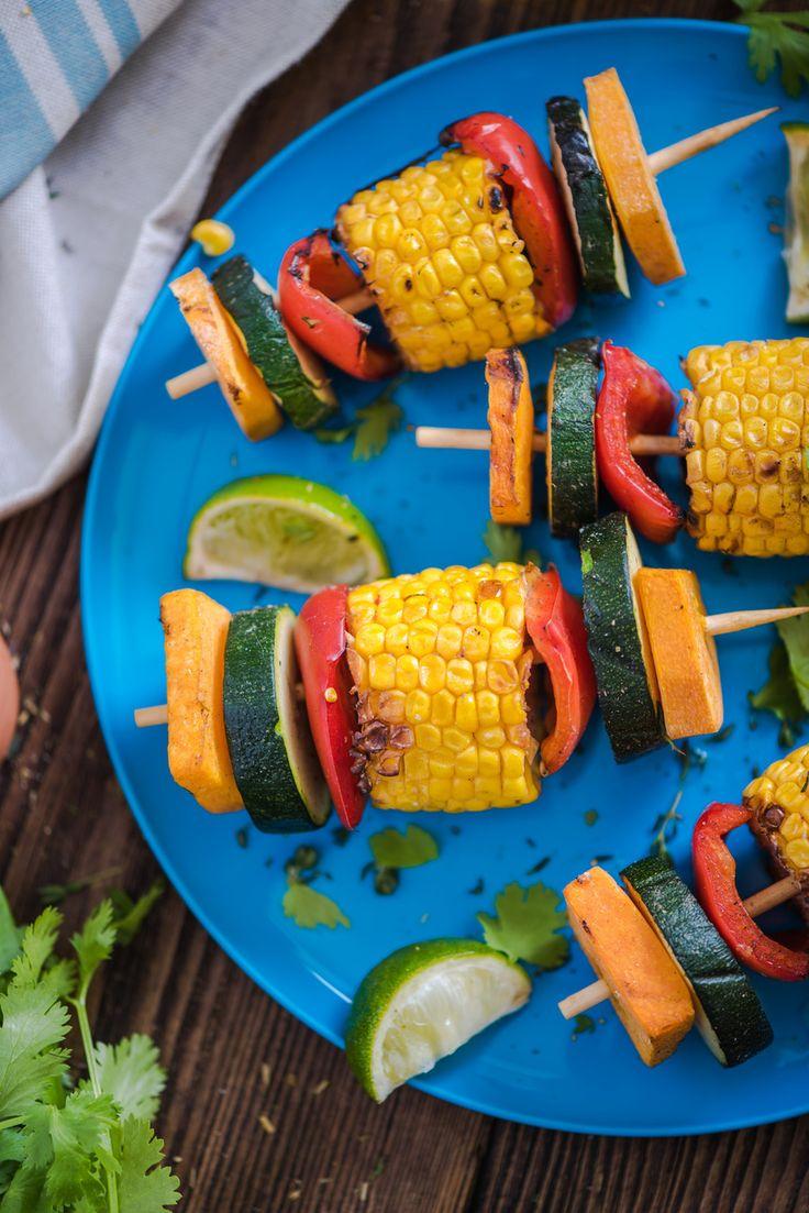 BBQ Party Ideas: Healthy Vegetable Skewers