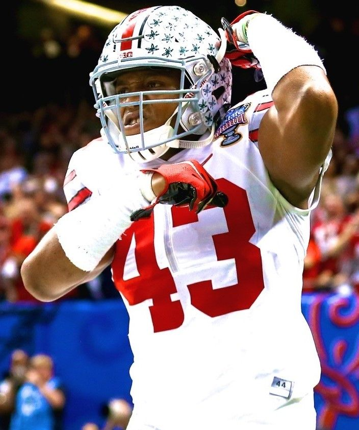 Darron Lee #43 } ************** OLB Ohio State