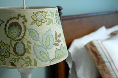 24 best lamp shades redo images on pinterest lamp shades 33 shades of green lamp redo aloadofball Images