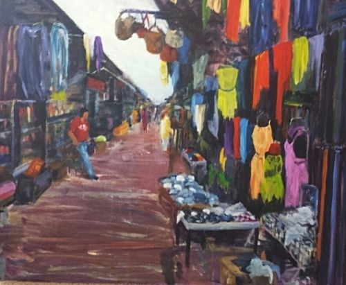 Market painting