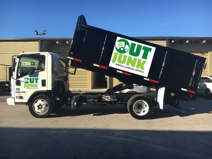 Out Junk Removal and Disposal Services #trash #garbage #recycling #dump #dumpster #miami