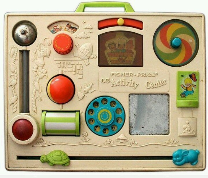 .Girls had this in the crib. Remember waking to the sounds of Ally playing with this. Kept her busy for a long time.