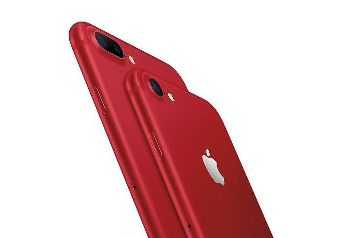 Apple iPhone 7 Keluarkan Produk Warna Merah Khusus Edisi Amal