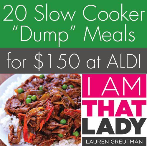 review i am that lady aldi menu plan 20 slow cooker. Black Bedroom Furniture Sets. Home Design Ideas