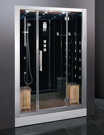 steam showers showers and ariel on pinterest. Black Bedroom Furniture Sets. Home Design Ideas