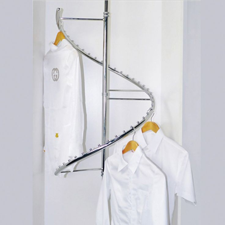 How To Organize A Spiral Clothes Rack And Rotating Hanger Organizing Your Closet Can Make Daily Routine Simpler Keep In Top