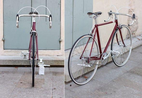 Restyling di una bici da corsa vintage