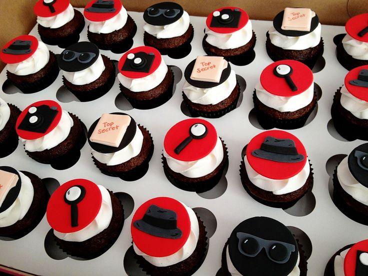 Spy Birthday Cake Images