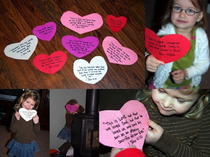 V-day scripture activity