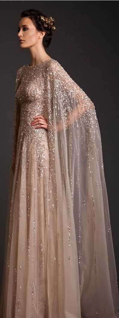 Krikor Jabotian Spring-Summer 2014 ... I absolutely love this dress and would love to know how I can get one for me.